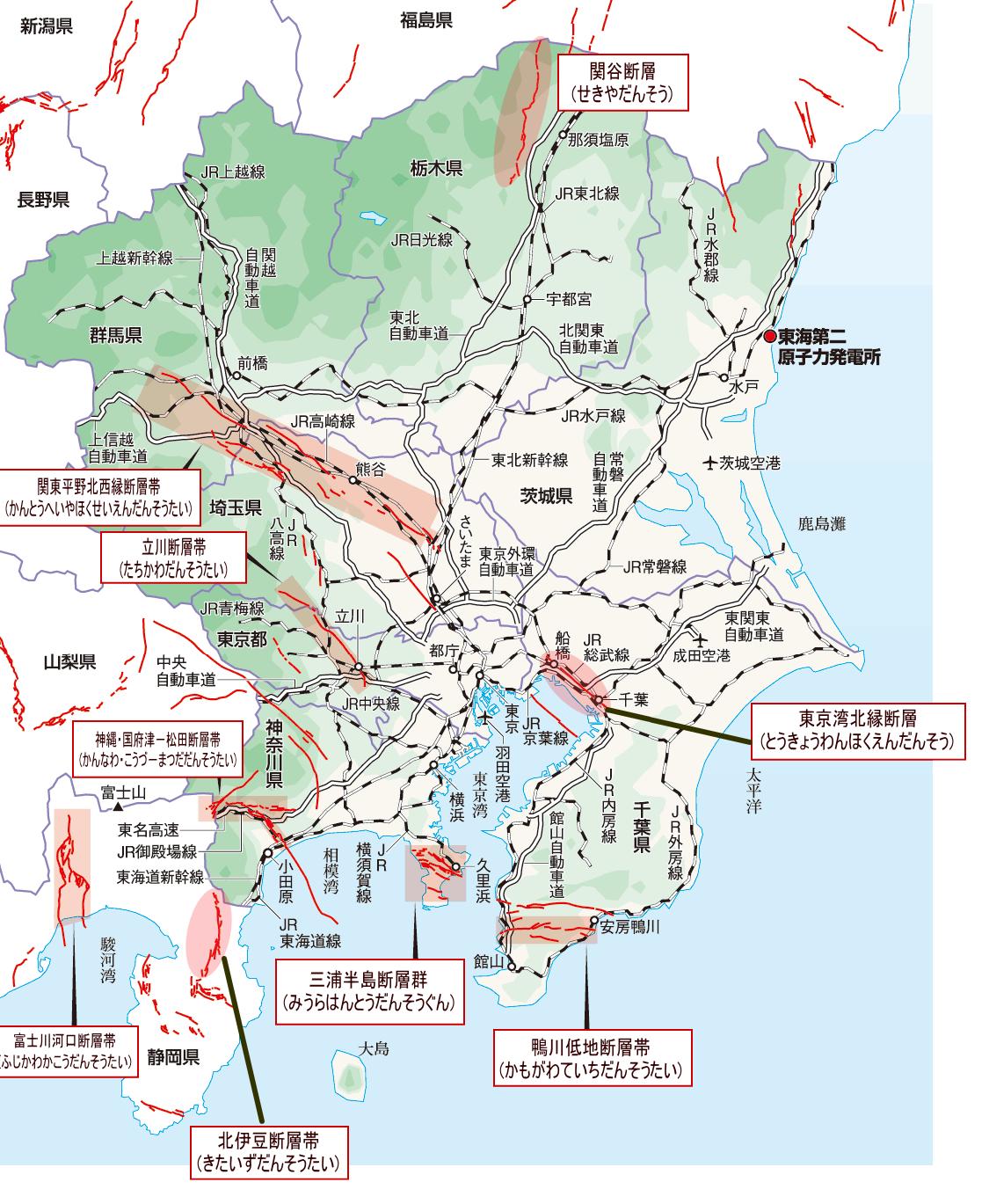 2019 断層図 3 関東3