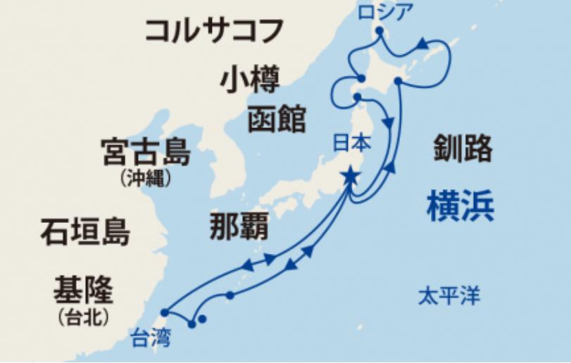 2019年7月 北海道 台湾
