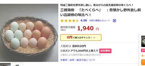 3集鶏卵 有精卵