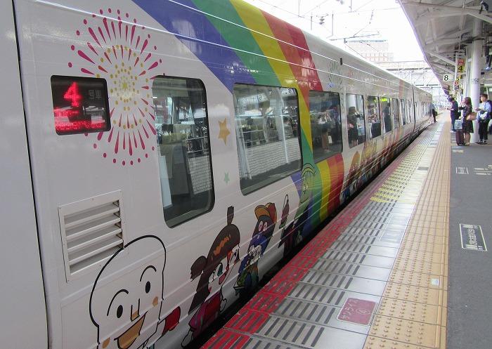 潮風 アンパンマン列車で 1 5 19