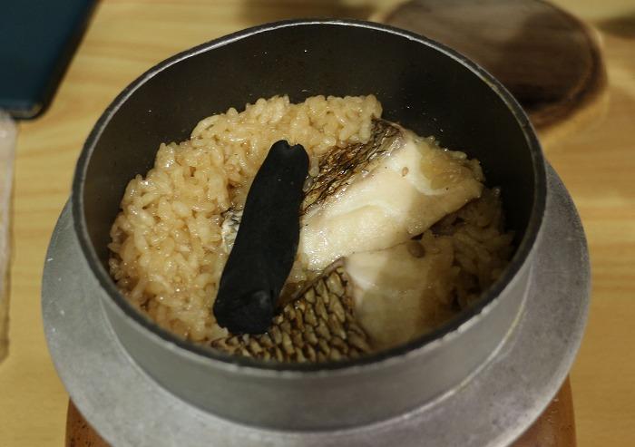鯛釜飯炊き上がり 1 6 18