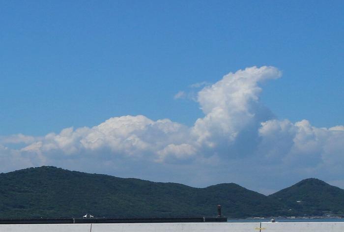 夏空と白い雲 1 6 24