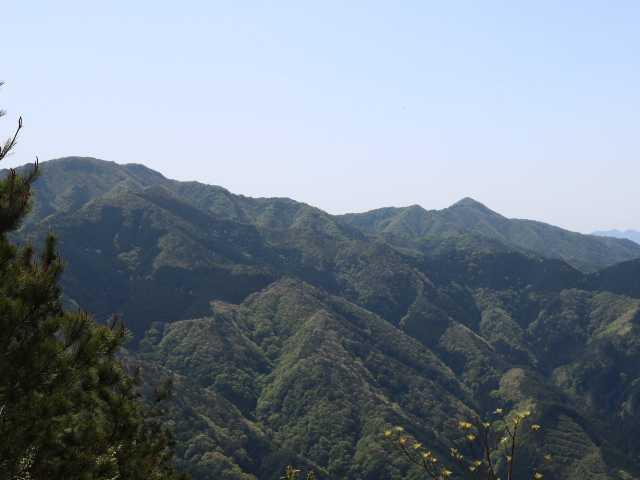 IMG1094JPG弟見山と三角の莇ケ岳