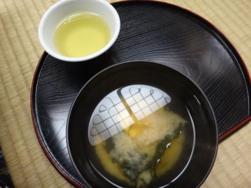味噌汁&お茶