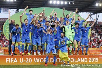 ウクライナ初優勝