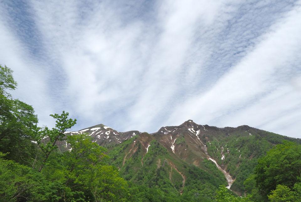 8955 笠ヶ岳と白毛門 960×645