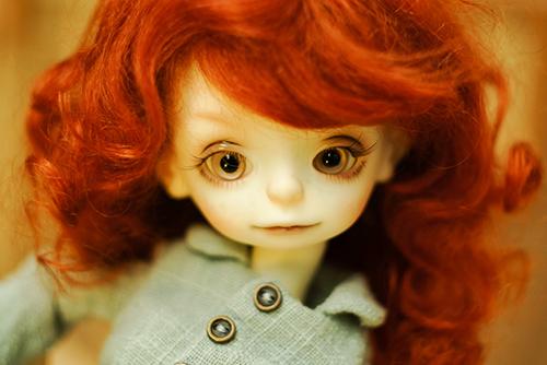 DOLLZONE・Pumpkinのクルル。目がクリクリの可愛い子をお迎えしました。