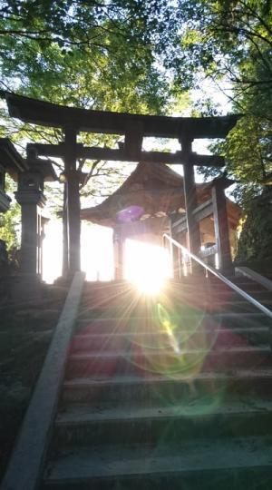 ウエサク満月の日に三峰神社へ