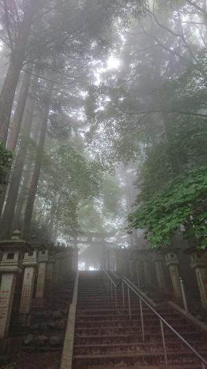恵まれた夏至の三峯神社参拝