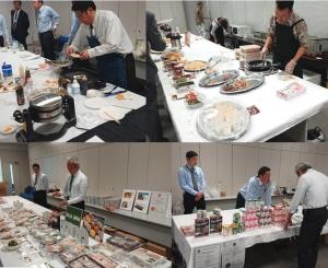 日本ハラール産業界試食会_会場の模様