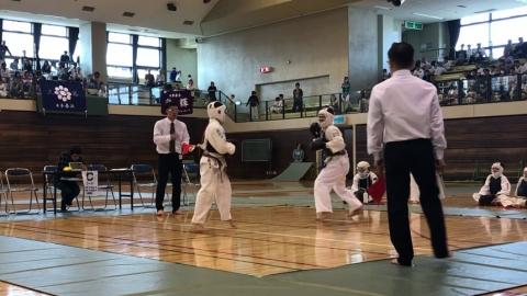 2019日本拳法西日本少年大会決勝(中学1年男子) ver 今治拳友会