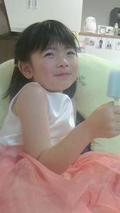 6歳になった明里ちゃん