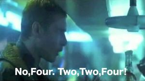 2と2で4だ