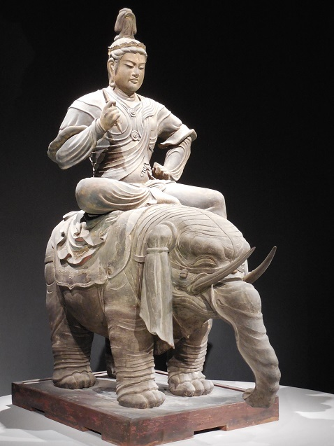 帝釈天騎象像@東京国立博物館「東寺展」a