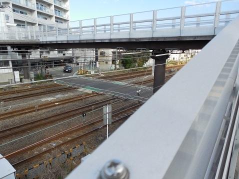 東海道本線の浦島踏切@横浜市神奈川区f