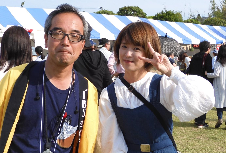 鹿原徳夫さんと水越恭子さん_20190601