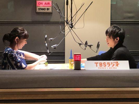 辰巳ゆうとTBSラジオFineにゲスト出演1