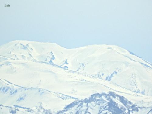 [白山]山頂