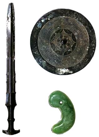 【平成令和】天皇家に代々受け継がれている「三種の神器」って何なの? → 教授「天皇自身すら見たことがない物なのです」