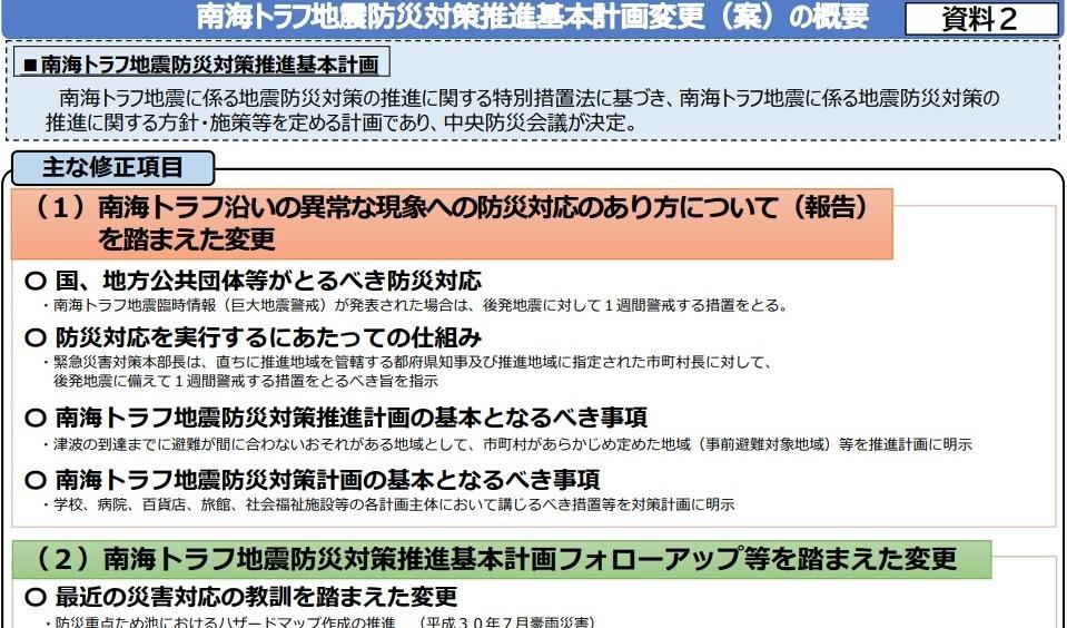 【防災会議】日本政府「南海トラフ巨大地震での推定死者数を30%減らせた!23.1万人が最新試算です。 国民は事前避難しろよ」