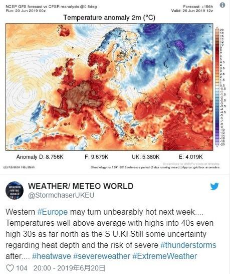 【ヨーロッパ】イギリスやギリシャなど欧州でも熱波で「気温40℃」近くにまで達する事態に…2005年以来の猛暑で地球温暖化の影響が世界各地で深刻化