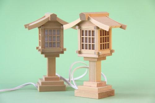 尾州桧バージョン 木製灯篭