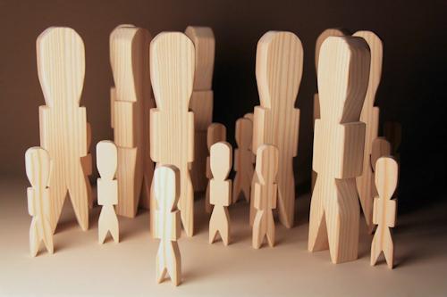木製人形代 祭祀具