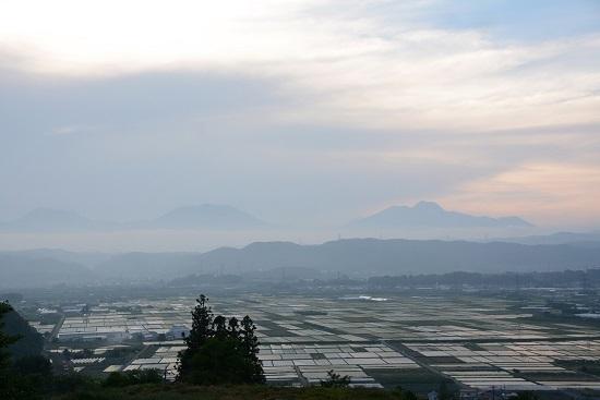 延徳の田んぼを俯瞰
