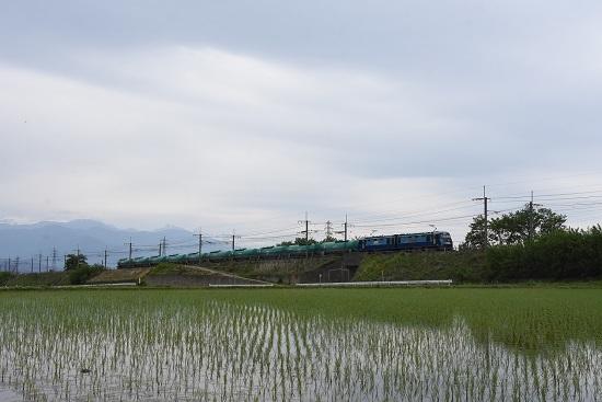 東線貨物2080レ EH200-13号機 みどり湖にて