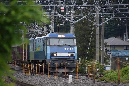 東線貨物2083レ EH200-8号機