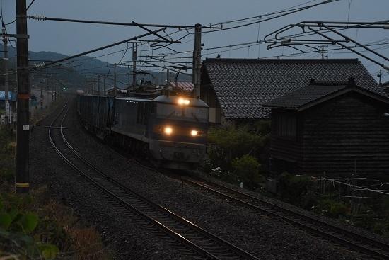 日本海縦貫線 貨物 4059レ EF510-515号機
