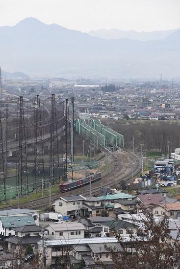 2632M 115系しなの鉄道色 俯瞰 犀川鉄橋
