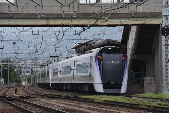 1M あずさ1号 南松本駅通過
