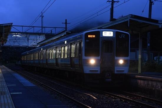 回9121M 211系 小野駅にて N305編成