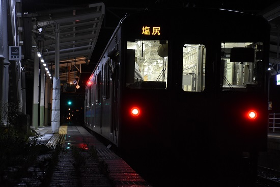 9137M E127系小野駅発車