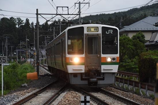飯田線 213系 辰野ほたる祭り号