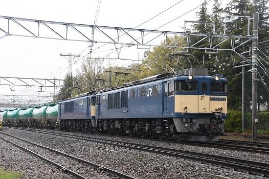 西線貨物6088レ EF64-1022+1024号機 南松本