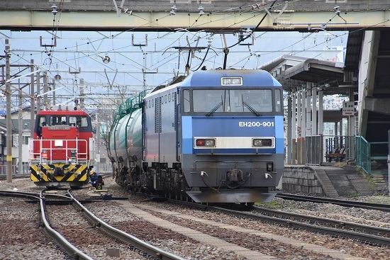 EH200-901とHD300 トークバック