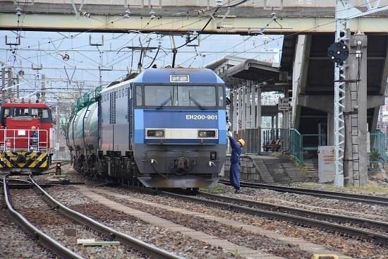 EH200-901号機 無線機返却