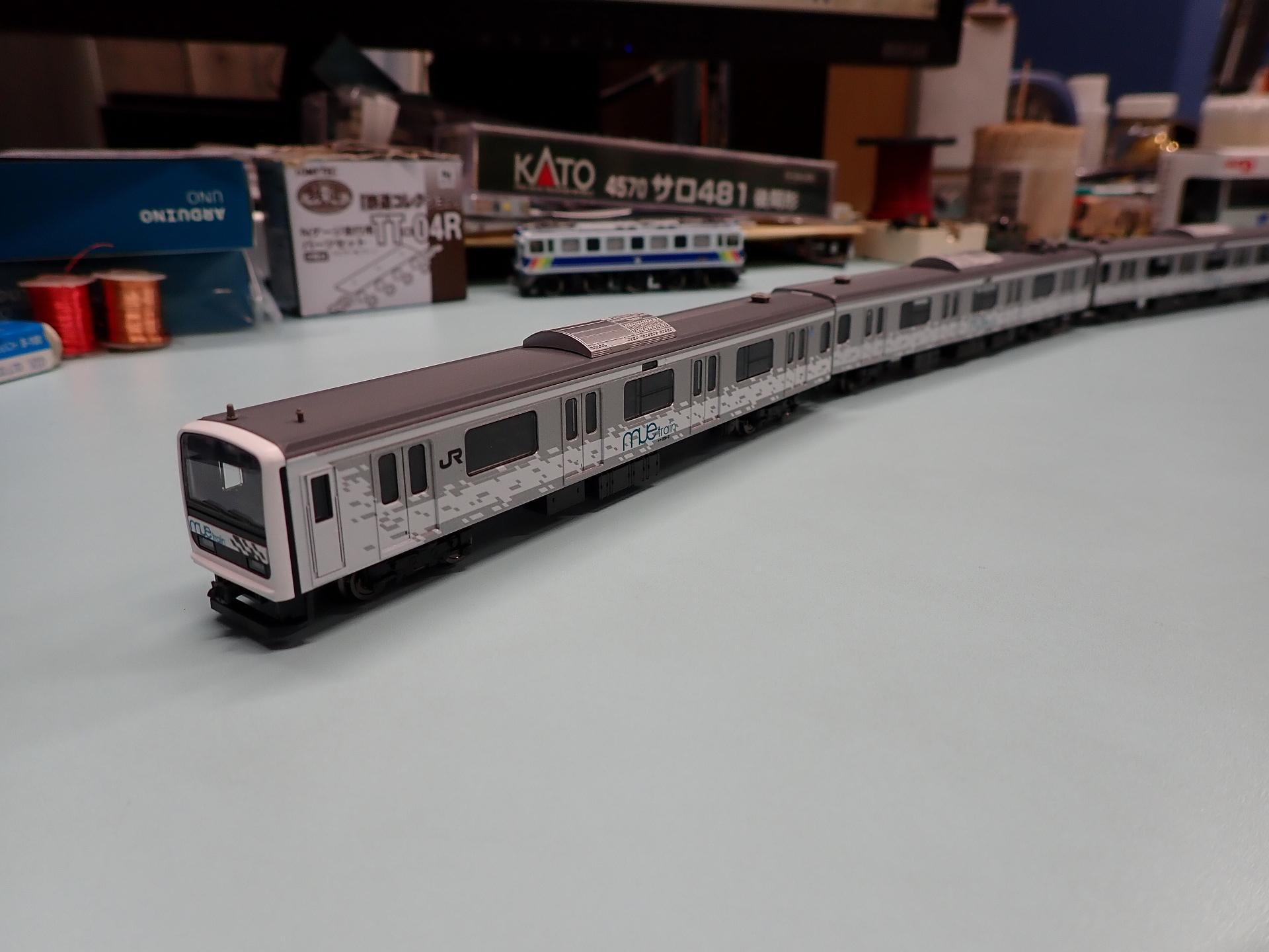 イベント限定209系MUE-Trainタイプをゲットしました。