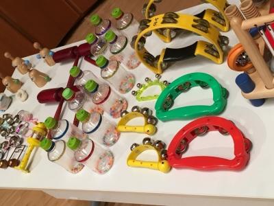 おもちゃ楽器色々