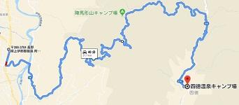 四徳温泉-地図