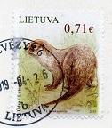 切手8  リトアニア