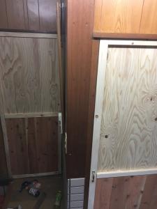 ドア完成2枚