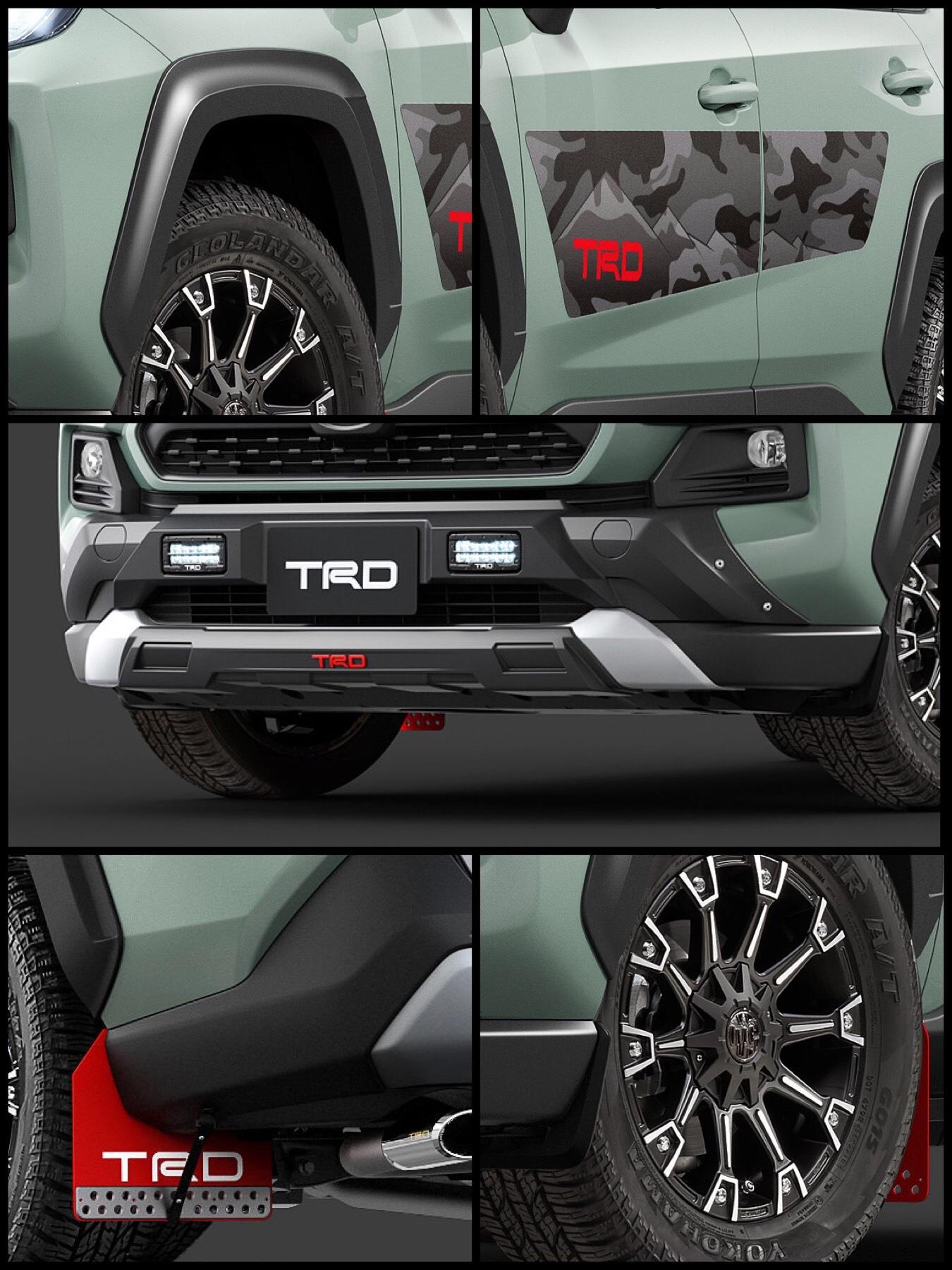トヨタ新型RAV4「Adventuerグレード」TRDフィールドモンスター