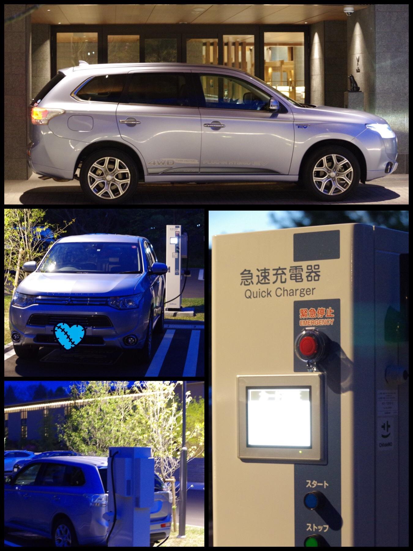 EV充電スポット 東急ハーヴェストクラブ軽井沢&VIALA
