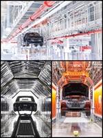 「Audi e-tron」のブリュッセル工場がカッコいい