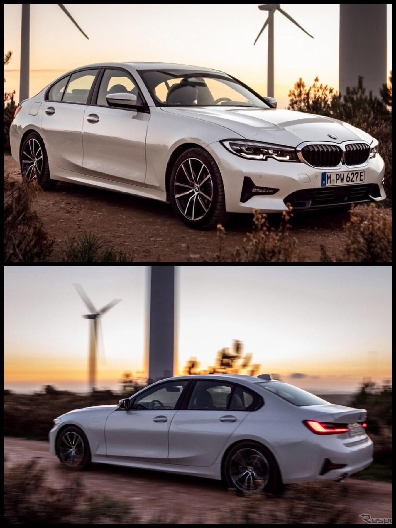 BMW新型「3シリーズ」PHEVモデル「330e Mスポーツ」