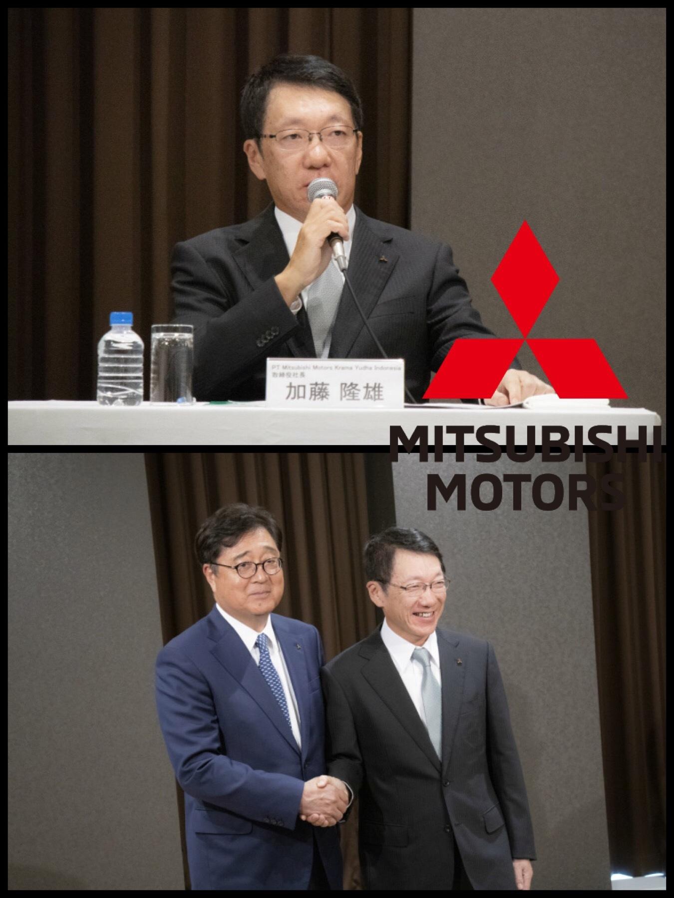 三菱自動車 CEO加藤氏