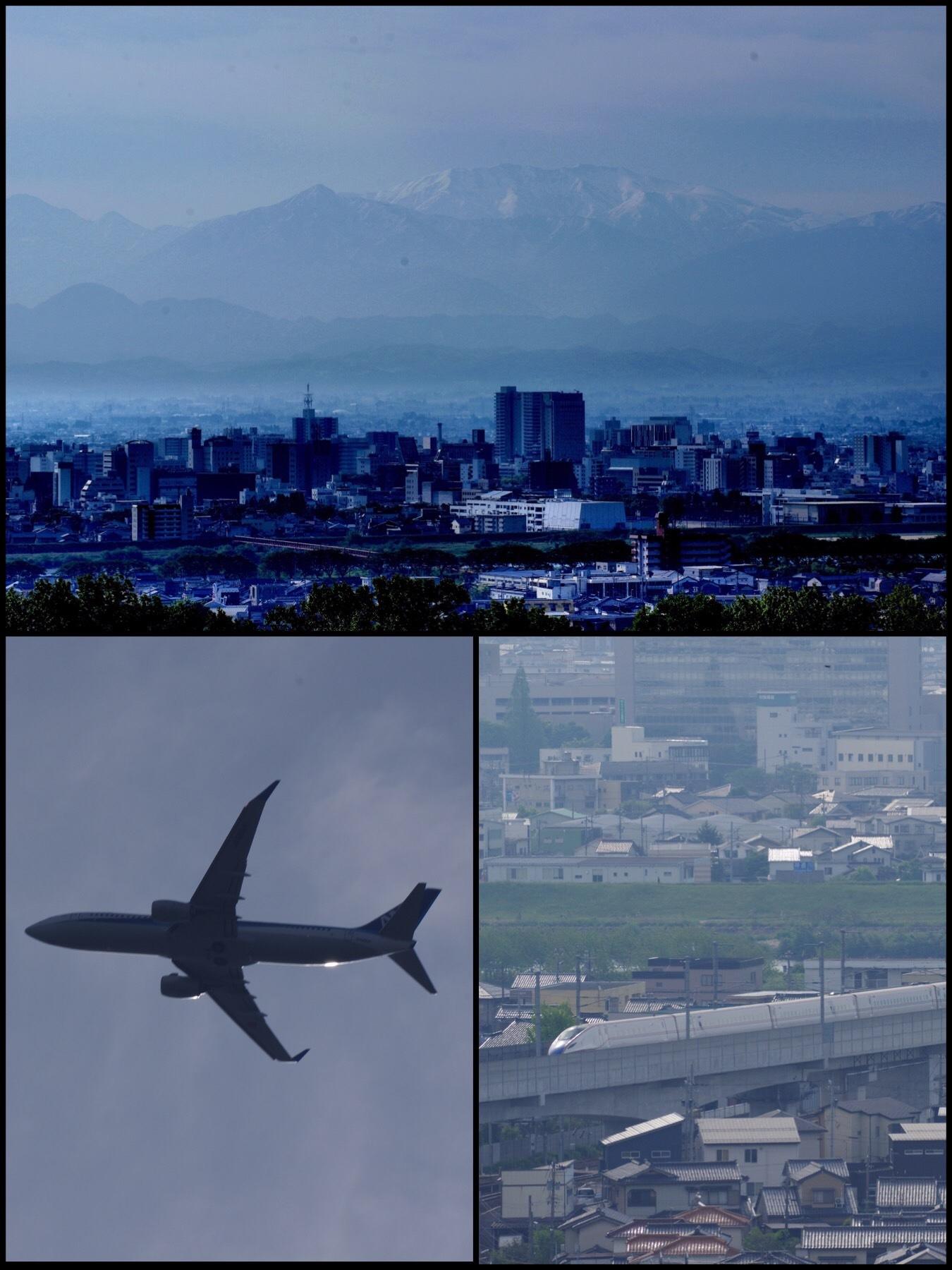 富山 呉羽山公園 立山連峰 リバーリトリート雅楽倶